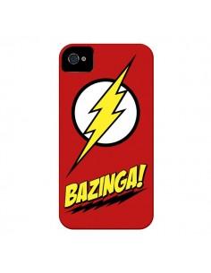 Coque Bazinga Sheldon The Big Bang Theory pour iPhone 4 et 4S - Jonathan Perez
