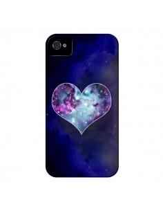 Coque Nebula Heart Coeur Galaxie pour iPhone 4 et 4S - Jonathan Perez