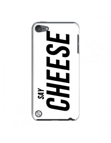 Coque Say Cheese Smile Blanc pour iPod Touch 5 - Jonathan Perez
