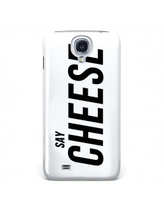 Coque Say Cheese Smile Blanc pour Samsung Galaxy S4 - Jonathan Perez