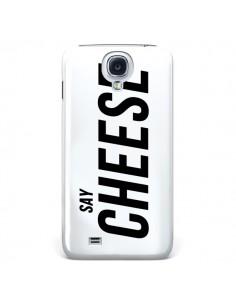 Coque Say Cheese Smile Blanc pour Samsung Galaxy S4 - Jonathan Perez