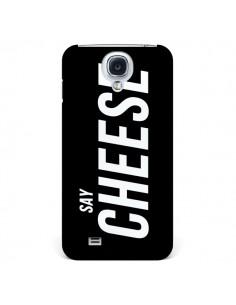 Coque Say Cheese Smile Noir pour Samsung Galaxy S4 - Jonathan Perez