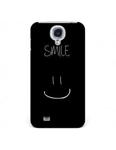 Coque Smile Souriez Noir pour Samsung Galaxy S4 - Jonathan Perez