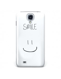 Coque Smile Souriez Blanc pour Samsung Galaxy S4 - Jonathan Perez