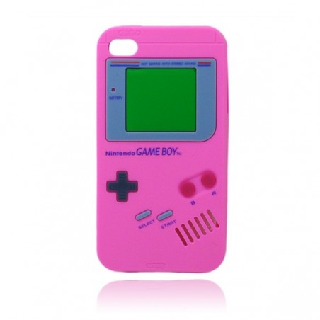 Coque Game Boy en Silicone pour iPhone 4/4S