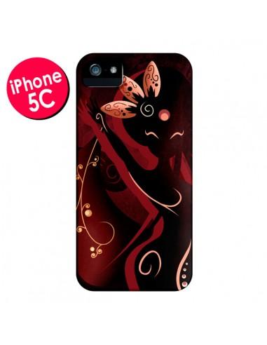 Coque iPhone 5C Sarah Oriantal Woman Femme - LouJah