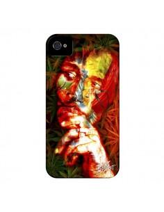 Coque Bob Marley pour iPhone 4 et 4S - Brozart