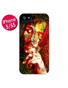 Coque Bob Marley pour iPhone 5 et 5S - Brozart