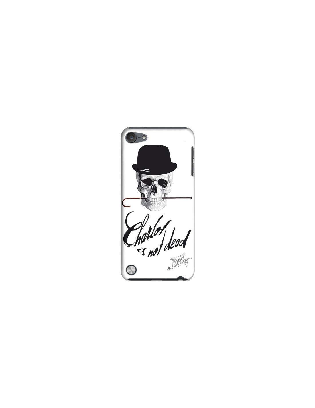 coque charlie chaplin is not dead pour ipod touch 5
