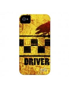 Coque Driver Taxi pour iPhone 4 et 4S - Brozart