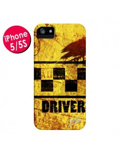 Coque Driver Taxi pour iPhone 5 et 5S - Brozart