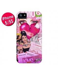 Coque Glamour Magazine pour iPhone 5 et 5S - Brozart