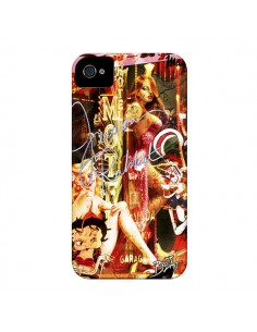 Coque Jessica Rabbit Betty Boop pour iPhone 4 et 4S - Brozart