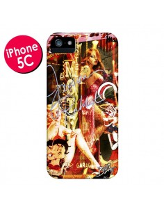 Coque Jessica Rabbit Betty Boop pour iPhone 5C - Brozart