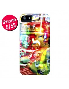 Coque London Bus pour iPhone 5 et 5S - Brozart