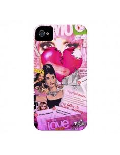 Coque Glamour Magazine pour iPhone 4 et 4S - Brozart