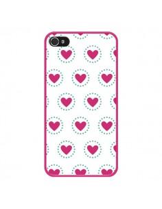 Coque Coeur Cercle pour iPhone 4 et 4S - Jonathan Perez