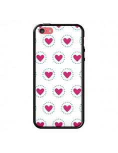 Coque Coeur Cercle pour iPhone 5C - Jonathan Perez