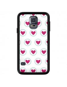 Coque Coeur Cercle pour Samsung Galaxy S5 - Jonathan Perez