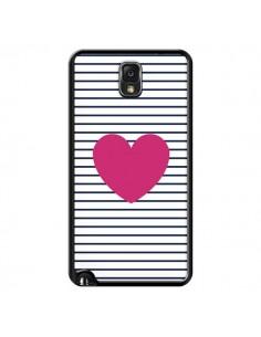 Coque Coeur Traits Marin pour Samsung Galaxy Note III - Jonathan Perez