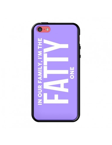 Coque In our family i'm the Fatty one pour iPhone 5C - Jonathan Perez