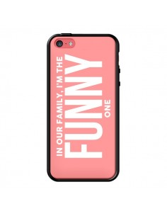 Coque In our family i'm the Funny one pour iPhone 5C - Jonathan Perez