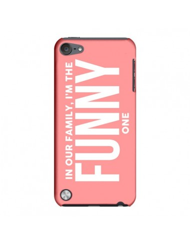 Coque In our family i'm the Funny one pour iPod Touch 5 - Jonathan Perez