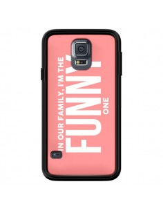 Coque In our family i'm the Funny one pour Samsung Galaxy S5 - Jonathan Perez