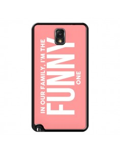 Coque In our family i'm the Funny one pour Samsung Galaxy Note III - Jonathan Perez