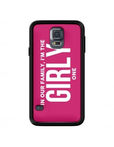 Coque In our family i'm the Girly one pour Samsung Galaxy S5 - Jonathan Perez