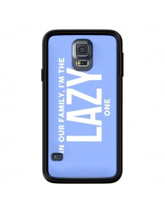 Coque In our family i'm the Lazy one pour Samsung Galaxy S5 - Jonathan Perez