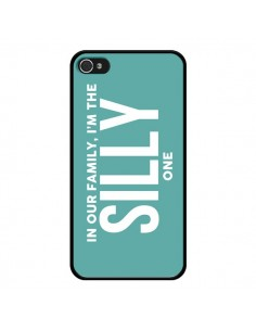 Coque In our family i'm the Silly one pour iPhone 4 et 4S - Jonathan Perez