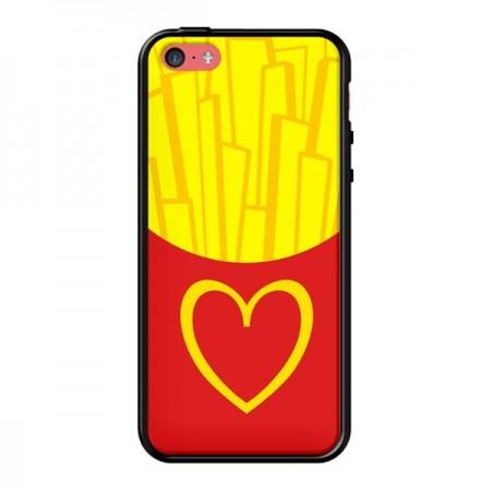 Coque iPhone 5C Frites McDo - Jonathan Perez