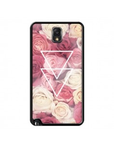 Coque Roses Triangles Fleurs pour Samsung Galaxy Note III - Jonathan Perez