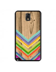 Coque Tribal Azteque Bois Wood pour Samsung Galaxy Note III - Jonathan Perez