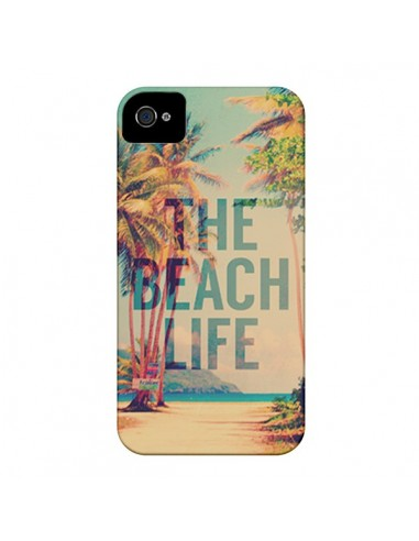Coque The Beach Life Summer pour iPhone 4 et 4S - Mary Nesrala