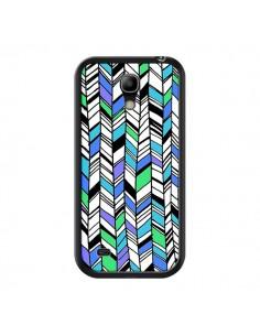 Coque Graphic Azteque Bleu Vert pour Samsung Galaxy S4 Mini - Léa Clément