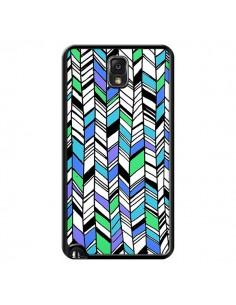 Coque Graphic Azteque Bleu Vert pour Samsung Galaxy Note III - Léa Clément
