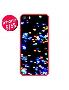 Coque Heart Coeurs Muticolores pour iPhone 5 et 5S - Léa Clément