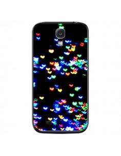 Coque Heart Coeurs Muticolores pour Samsung Galaxy S4 - Léa Clément