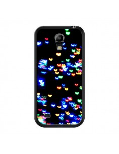 Coque Heart Coeurs Muticolores pour Samsung Galaxy S4 Mini - Léa Clément