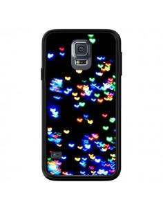 Coque Heart Coeurs Muticolores pour Samsung Galaxy S5 - Léa Clément