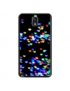 Coque Heart Coeurs Muticolores pour Samsung Galaxy Note III - Léa Clément