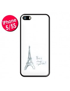 Coque Paris is always a good idea pour iPhone 5 et 5S - Léa Clément