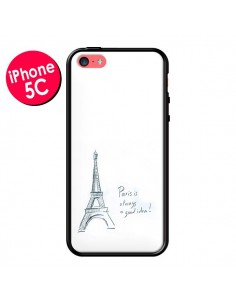 Coque Paris is always a good idea pour iPhone 5C - Léa Clément