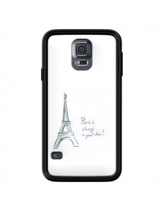 Coque Paris is always a good idea pour Samsung Galaxy S5 - Léa Clément