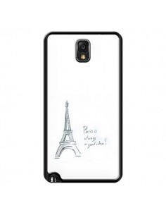 Coque Paris is always a good idea pour Samsung Galaxy Note III - Léa Clément