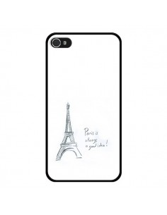 Coque Paris is always a good idea pour iPhone 4 et 4S - Léa Clément