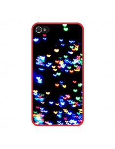 Coque Heart Coeurs Muticolores pour iPhone 4 et 4S - Léa Clément
