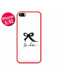 Coque Be Chic Noeud Papillon pour iPhone 5 et 5S - Léa Clément